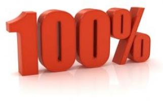 100 процентов